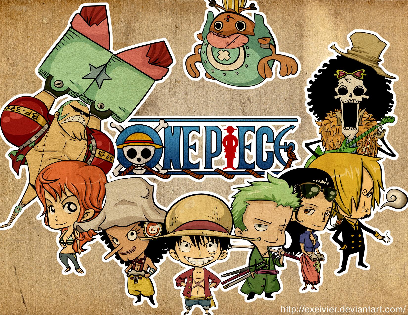One Piece New WOne World Crew
